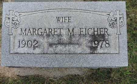 EICHER, MARGARET - Franklin County, Ohio | MARGARET EICHER - Ohio Gravestone Photos