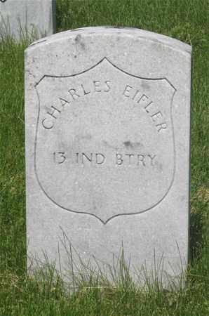 EIFLER, CHARLES - Franklin County, Ohio | CHARLES EIFLER - Ohio Gravestone Photos