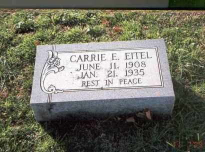 DAVIS EITEL, CARRIE E. - Franklin County, Ohio | CARRIE E. DAVIS EITEL - Ohio Gravestone Photos