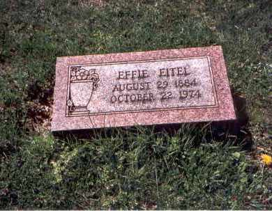 EITEL, EFFIE - Franklin County, Ohio | EFFIE EITEL - Ohio Gravestone Photos