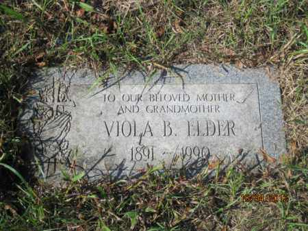 ELDER, VIOLA B - Franklin County, Ohio | VIOLA B ELDER - Ohio Gravestone Photos