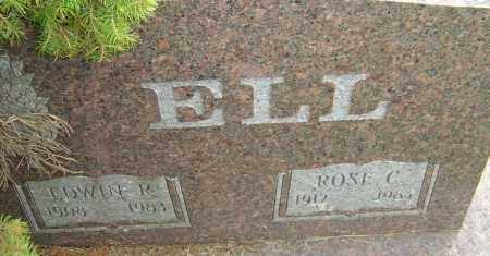 ELL, EDWIN R - Franklin County, Ohio | EDWIN R ELL - Ohio Gravestone Photos