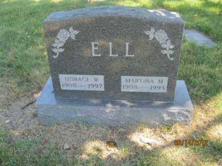 COLEMAN ELL, MARTINA MARGARITE - Franklin County, Ohio | MARTINA MARGARITE COLEMAN ELL - Ohio Gravestone Photos
