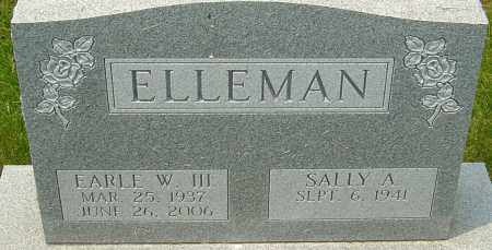 ELLEMAN, EARLE W - Franklin County, Ohio | EARLE W ELLEMAN - Ohio Gravestone Photos