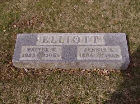 ELLIOTE, WALTER W. - Franklin County, Ohio | WALTER W. ELLIOTE - Ohio Gravestone Photos