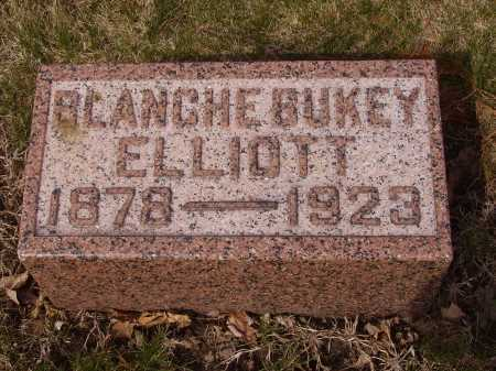 BUKEY ELLIOTT, BLANCHE - Franklin County, Ohio | BLANCHE BUKEY ELLIOTT - Ohio Gravestone Photos