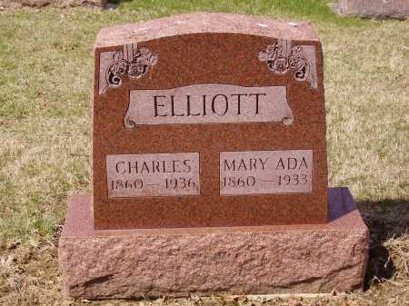 ELLIOTT, CHARLES - Franklin County, Ohio | CHARLES ELLIOTT - Ohio Gravestone Photos