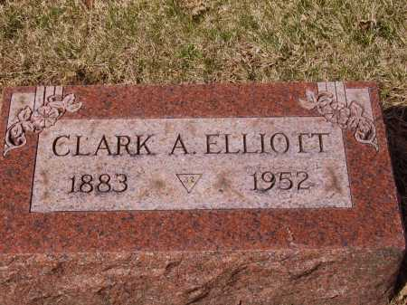 ELLIOTT, CLARK A. - Franklin County, Ohio | CLARK A. ELLIOTT - Ohio Gravestone Photos