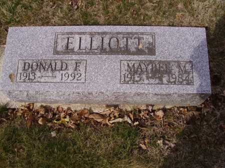 ELLIOTT, MAYBEL M. - Franklin County, Ohio | MAYBEL M. ELLIOTT - Ohio Gravestone Photos