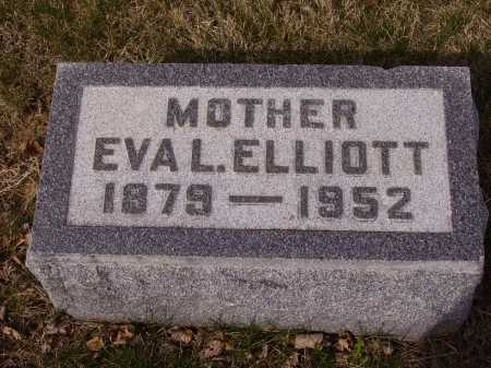 ELLIOTT, EVA L. - Franklin County, Ohio | EVA L. ELLIOTT - Ohio Gravestone Photos