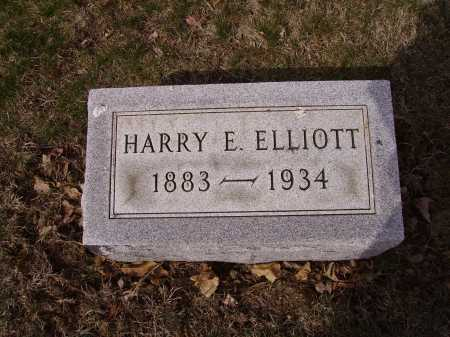 ELLIOTT, HARRY E. - Franklin County, Ohio | HARRY E. ELLIOTT - Ohio Gravestone Photos