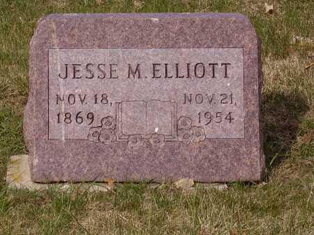 ELLIOTT, JESSE M. - Franklin County, Ohio | JESSE M. ELLIOTT - Ohio Gravestone Photos