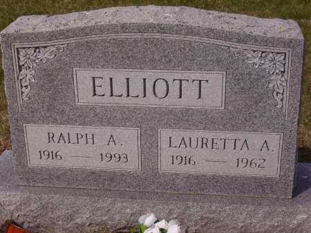 ELLIOTT, RALPH - Franklin County, Ohio | RALPH ELLIOTT - Ohio Gravestone Photos