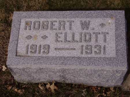 ELLIOTT, ROBERT W. - Franklin County, Ohio | ROBERT W. ELLIOTT - Ohio Gravestone Photos