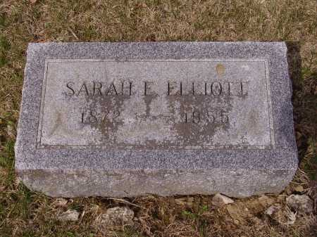 ELLIOTT, SARAH E. - Franklin County, Ohio | SARAH E. ELLIOTT - Ohio Gravestone Photos