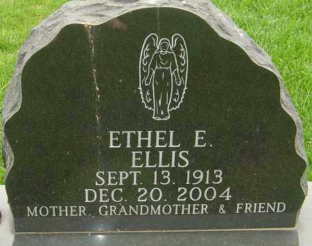 ELLIS, ETHEL E - Franklin County, Ohio | ETHEL E ELLIS - Ohio Gravestone Photos
