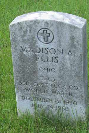 ELLIS, MADISON A. - Franklin County, Ohio | MADISON A. ELLIS - Ohio Gravestone Photos