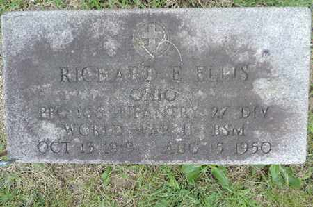 ELLIS, RICHARD E. - Franklin County, Ohio | RICHARD E. ELLIS - Ohio Gravestone Photos