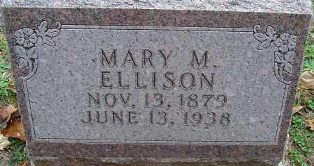 DAWSON ELLISON, MARY M - Franklin County, Ohio | MARY M DAWSON ELLISON - Ohio Gravestone Photos
