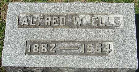 ELLS, ALFRED WELLINGTON - Franklin County, Ohio | ALFRED WELLINGTON ELLS - Ohio Gravestone Photos