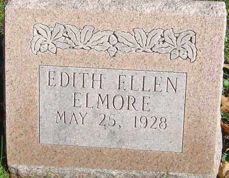 ELMORE, EDITH ELLEN - Franklin County, Ohio | EDITH ELLEN ELMORE - Ohio Gravestone Photos