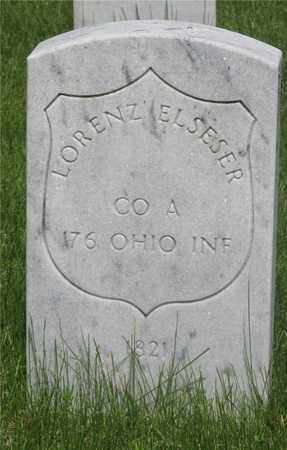 ELSESER, LORENZ - Franklin County, Ohio | LORENZ ELSESER - Ohio Gravestone Photos