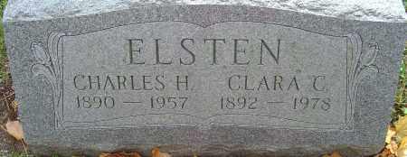 ELSTEN, CLARA C - Franklin County, Ohio | CLARA C ELSTEN - Ohio Gravestone Photos