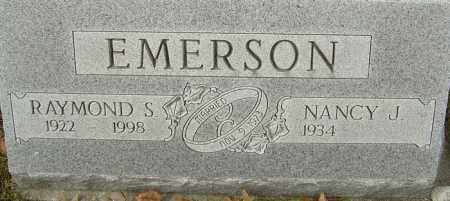 EMERSON, RAYMOND S - Franklin County, Ohio | RAYMOND S EMERSON - Ohio Gravestone Photos