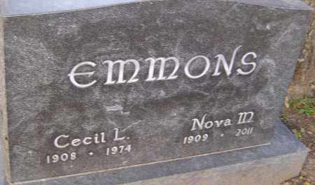 EMMONS, NOVA - Franklin County, Ohio | NOVA EMMONS - Ohio Gravestone Photos