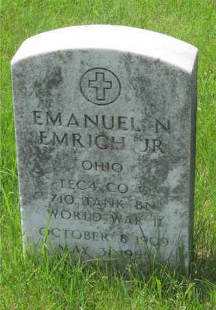 EMRICH, EMANUEL N. - Franklin County, Ohio | EMANUEL N. EMRICH - Ohio Gravestone Photos