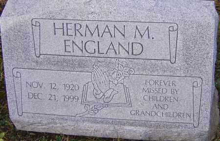 ENGLAND, HERMAN M - Franklin County, Ohio | HERMAN M ENGLAND - Ohio Gravestone Photos