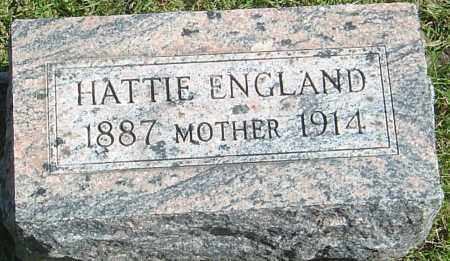 "ENGLAND, HARRIET ELIZABETH ""HATTIE"" - Franklin County, Ohio 