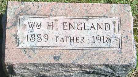 ENGLAND, WILLIAM HENRY - Franklin County, Ohio | WILLIAM HENRY ENGLAND - Ohio Gravestone Photos