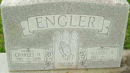 ENGLER, CHARLES H - Franklin County, Ohio | CHARLES H ENGLER - Ohio Gravestone Photos