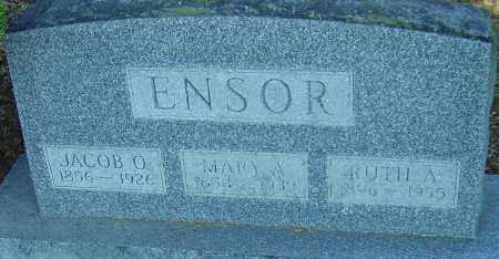ENSOR, JACOB O - Franklin County, Ohio | JACOB O ENSOR - Ohio Gravestone Photos