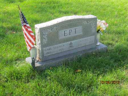 EPT, HARRIETT E J - Franklin County, Ohio | HARRIETT E J EPT - Ohio Gravestone Photos
