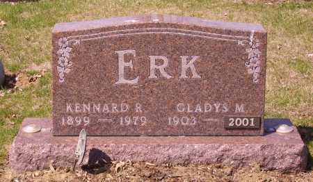 ERK, GLADYS M. - Franklin County, Ohio | GLADYS M. ERK - Ohio Gravestone Photos