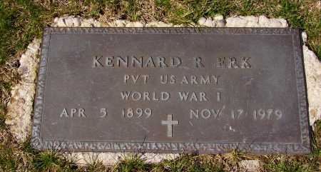 ERK, KENNARD R. - MILITARY - Franklin County, Ohio | KENNARD R. - MILITARY ERK - Ohio Gravestone Photos