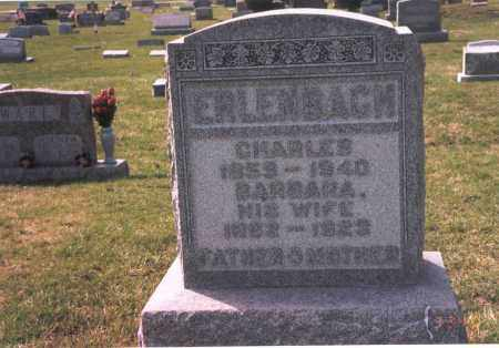 ERLENBACH, CHARLES - Franklin County, Ohio | CHARLES ERLENBACH - Ohio Gravestone Photos