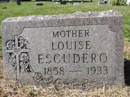 ESCUDERO, LOUISE - Franklin County, Ohio | LOUISE ESCUDERO - Ohio Gravestone Photos
