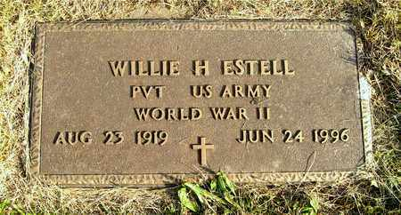ESTELL, WILLIE H. - Franklin County, Ohio | WILLIE H. ESTELL - Ohio Gravestone Photos