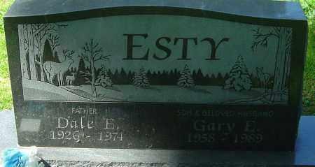 ESTY, DALE E - Franklin County, Ohio   DALE E ESTY - Ohio Gravestone Photos
