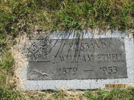ETHELL, JAMES WILLIAM - Franklin County, Ohio | JAMES WILLIAM ETHELL - Ohio Gravestone Photos
