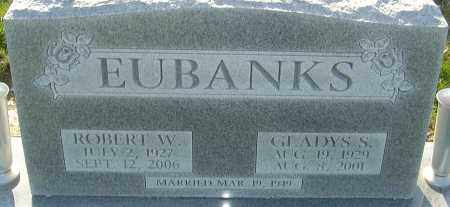 EUBANKS, ROBERT W - Franklin County, Ohio | ROBERT W EUBANKS - Ohio Gravestone Photos