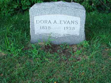 EVANS, DORA A. - Franklin County, Ohio | DORA A. EVANS - Ohio Gravestone Photos