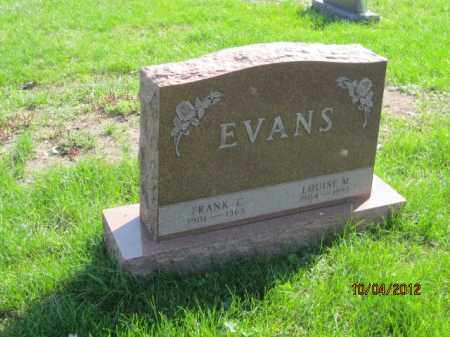EVANS, LOUISE M - Franklin County, Ohio | LOUISE M EVANS - Ohio Gravestone Photos
