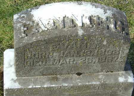 EVANS, FANNIE G - Franklin County, Ohio   FANNIE G EVANS - Ohio Gravestone Photos