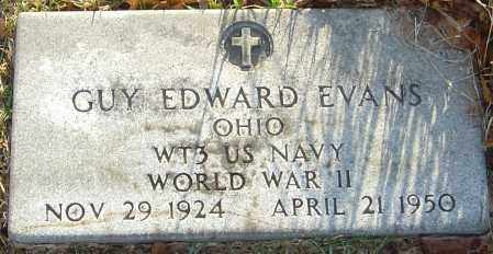 EVANS, GUY EDWARD - Franklin County, Ohio | GUY EDWARD EVANS - Ohio Gravestone Photos