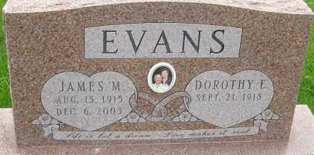EVANS, JAMES M - Franklin County, Ohio | JAMES M EVANS - Ohio Gravestone Photos