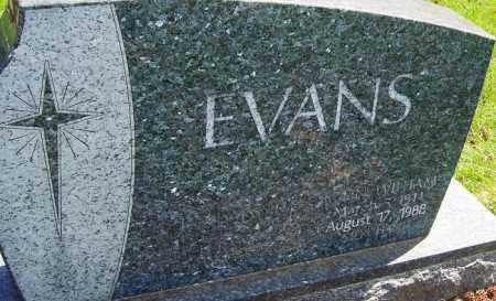 EVANS, JOHN WILLIAM - Franklin County, Ohio | JOHN WILLIAM EVANS - Ohio Gravestone Photos